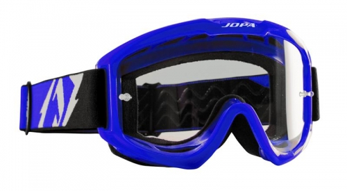 "Jopa ""Venom II Color"" Crossbrille in Blau"