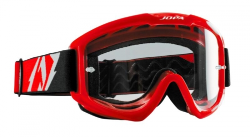 "Jopa ""Venom II Color"" Crossbrille in Rot"