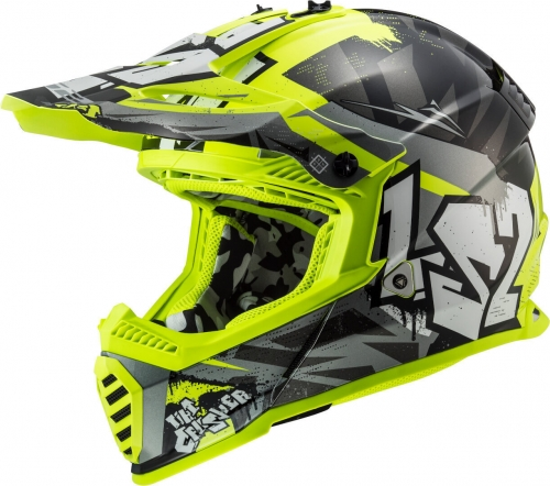 "LS2 MX437 Fast Evo ""Crusher"", Crosshelm"