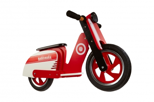 "Kiddimoto ""Scooter"" in Rot-Weiß"