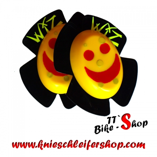 Wiz Knieschleifer - Smiley Gelb-Rot - Sparky